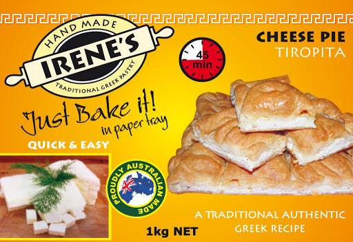 Irene's Cheese Pie (Tiropita) 1.2kg