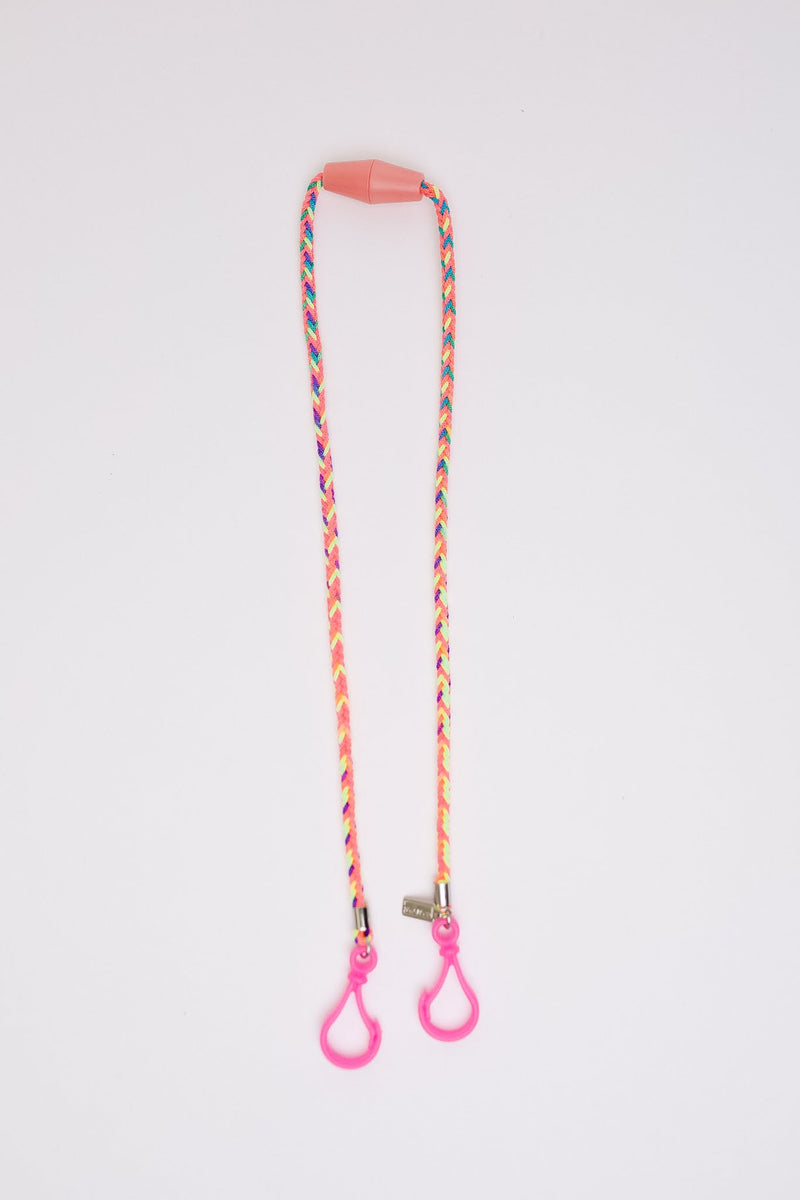 Keep Your Kids Safe Multi-Use Lanyard in Pink