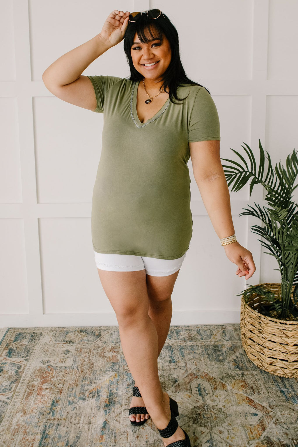 Andy Top in Olive