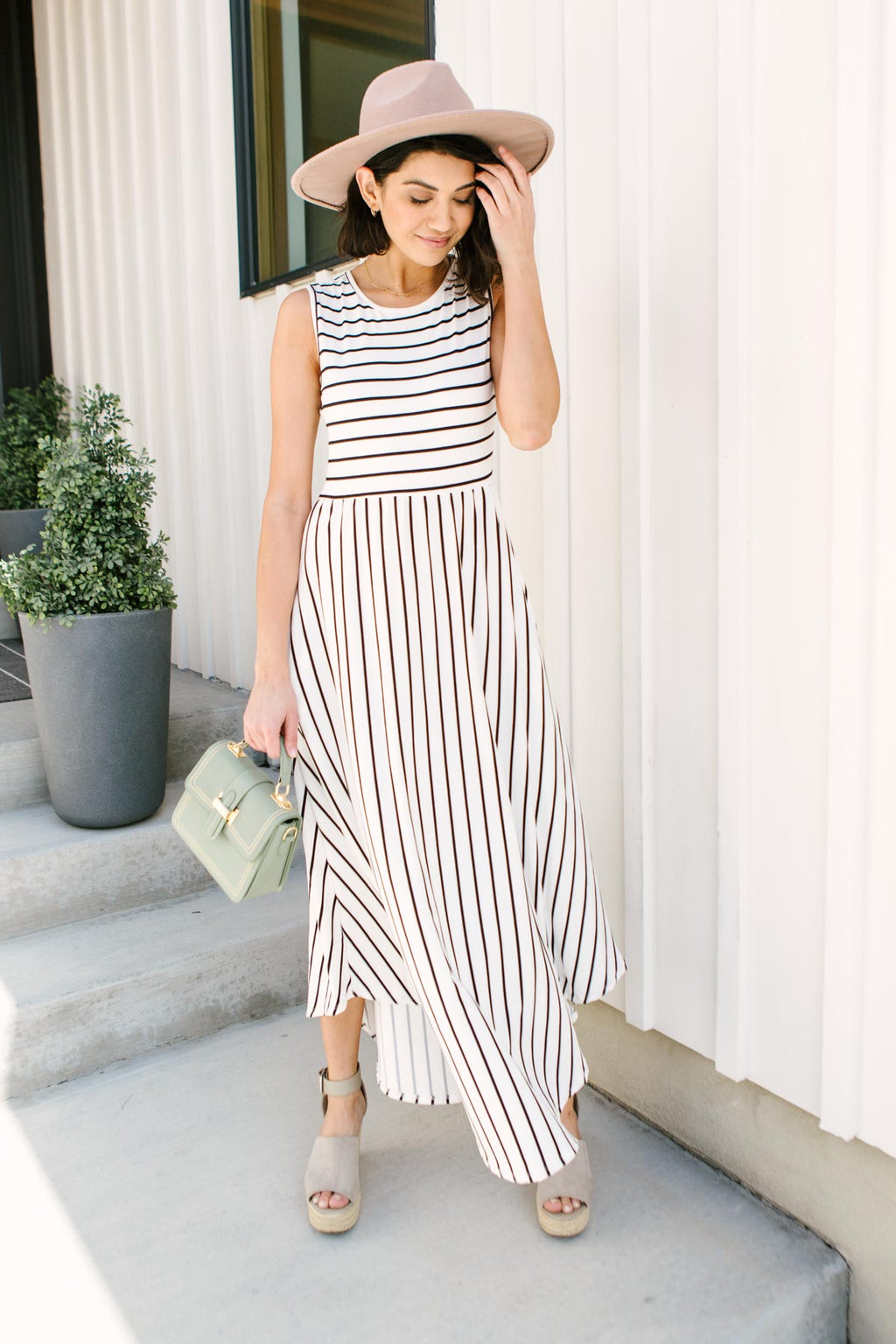 Beach Day Buttery Soft Maxi Dress In Ivory