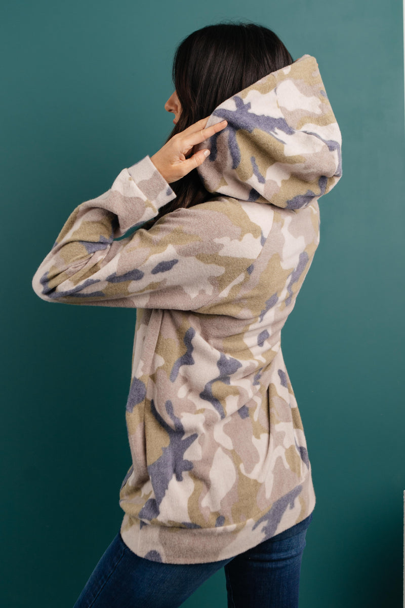 Brushed Camouflage Hoodie