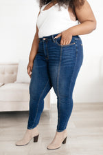 Judy Blue High Waist Center Seam Skinny Jeans