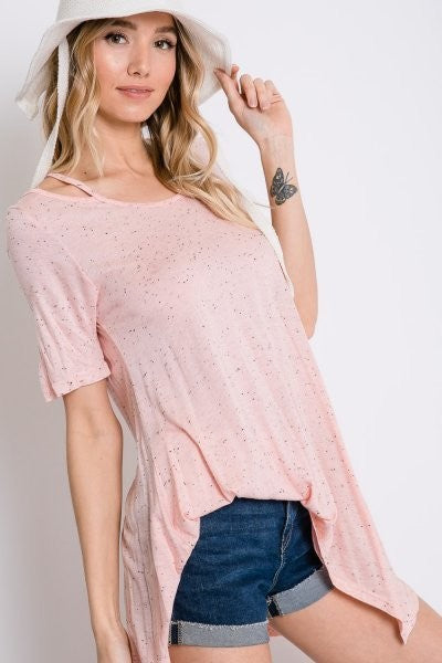 'Be Free' Asymmetrical Tunic Top