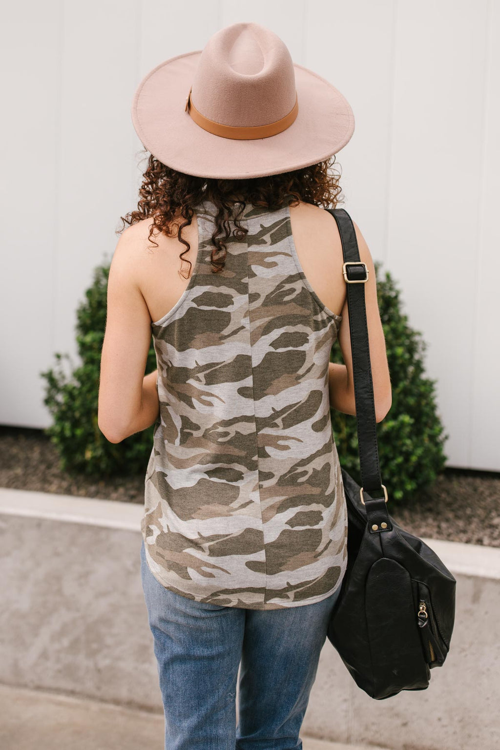 Drop and Give Me: Camo Tank Top