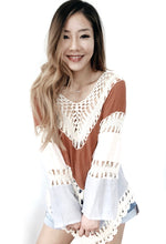 Gauze Tiered Crochet Tunic