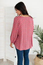 Harper Blouse in Pink