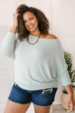 Hazel Dolman Sleeve Top