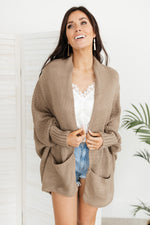 Not Your Grandmother's Cardigan in Muted Moss