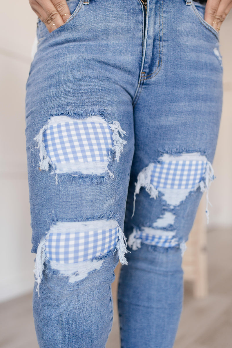 Judy Blue Southern Picnic Jeans