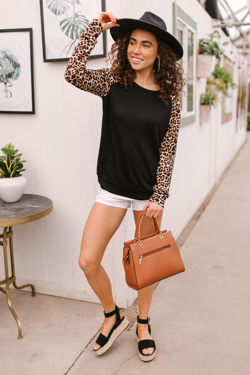Wildly Raglan Top