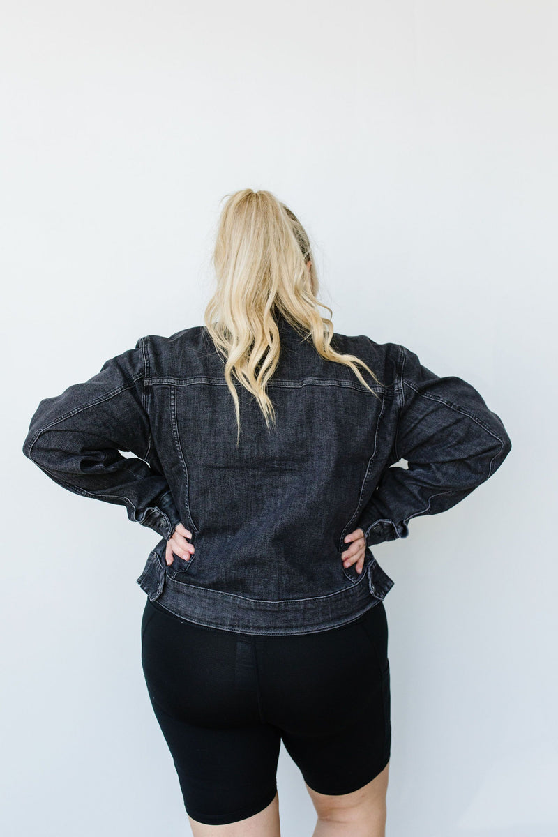 Judy Blue Black Magic Jean Jacket