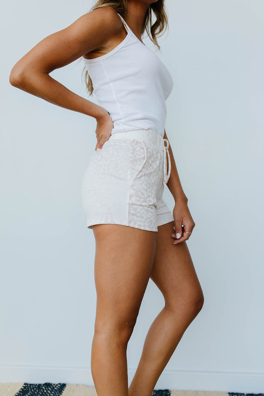 Faded Taupe Shorts