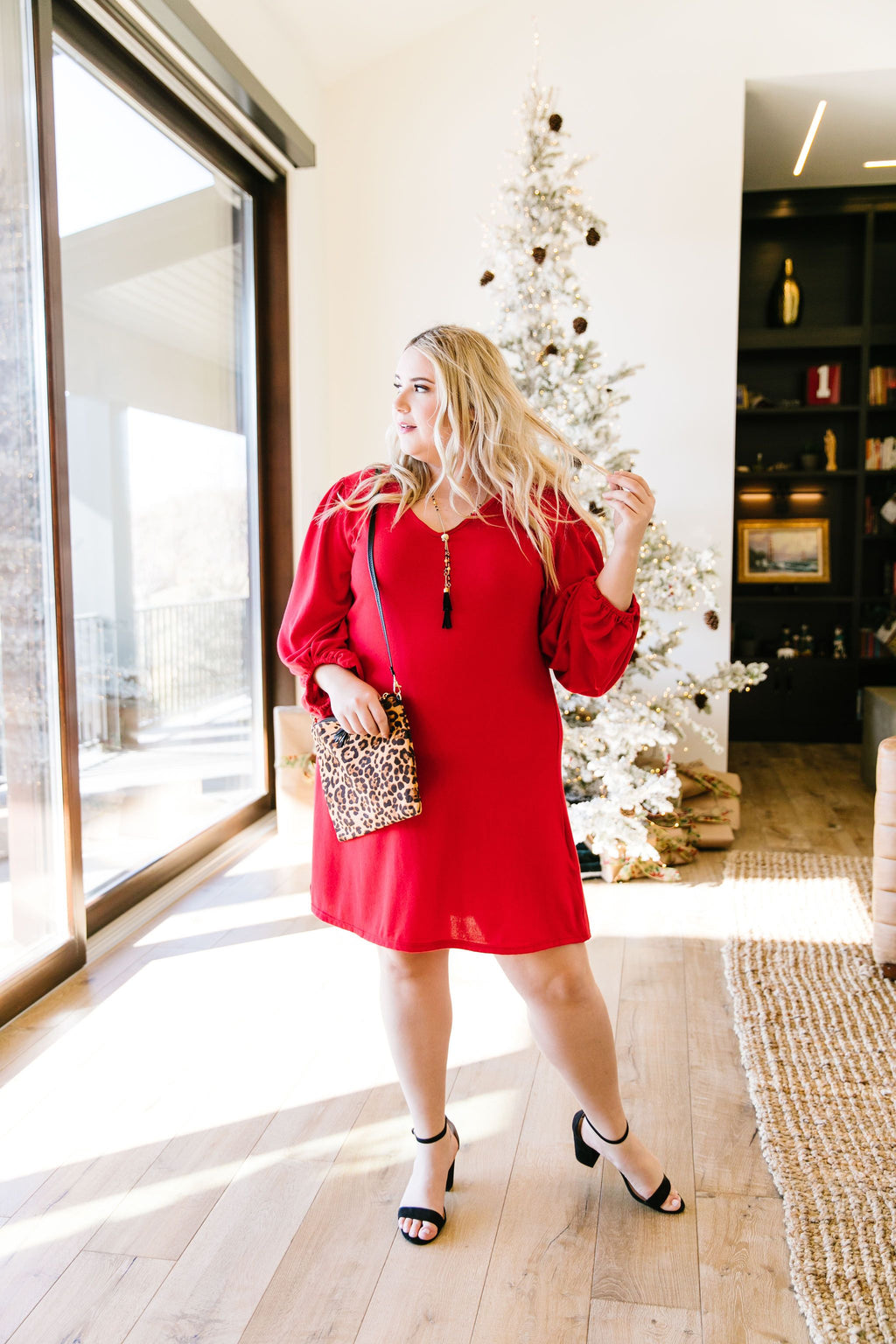 Ready For Anything Dress In Red