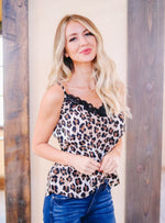 Seeing Spots Lace Trimmed Cami SAMPLE