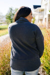 Mono B Thumbs Up Cowl Neck Pullover SAMPLE