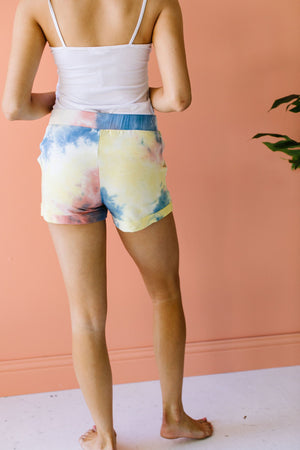 Tie The Knot Shorts In Coral