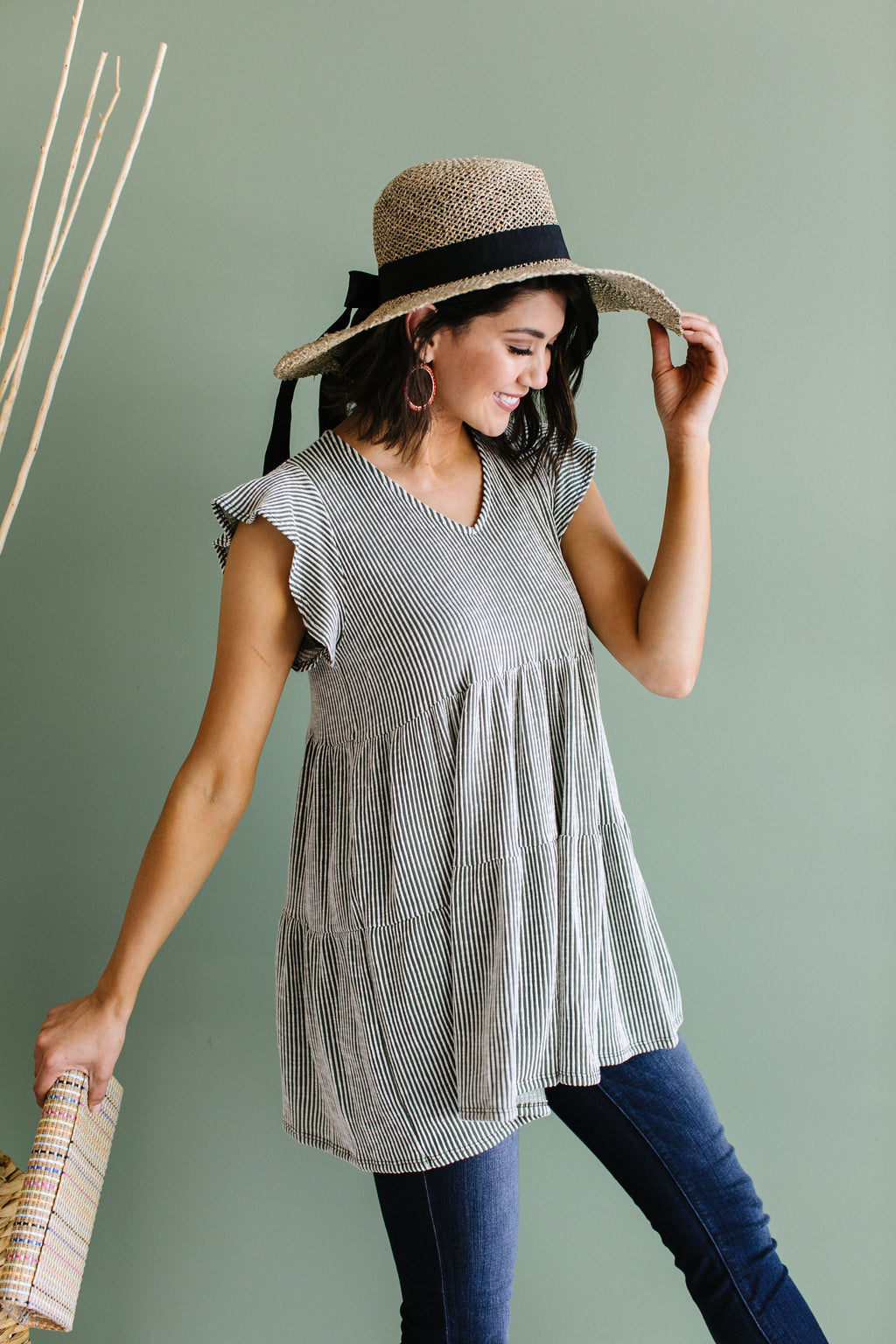 Two Timin' Babydoll Top