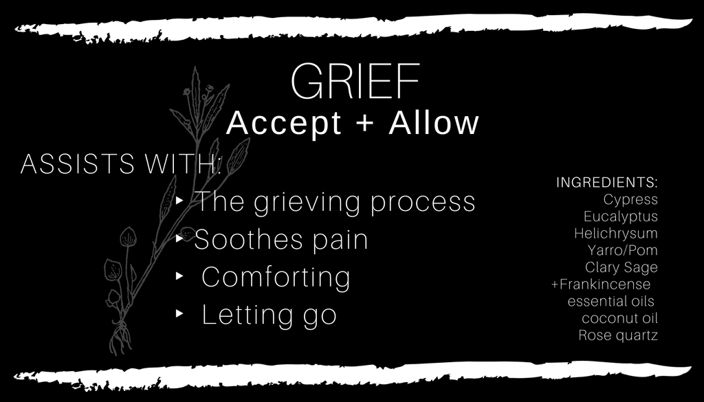GRIEF・Accept + Allow Body Oil