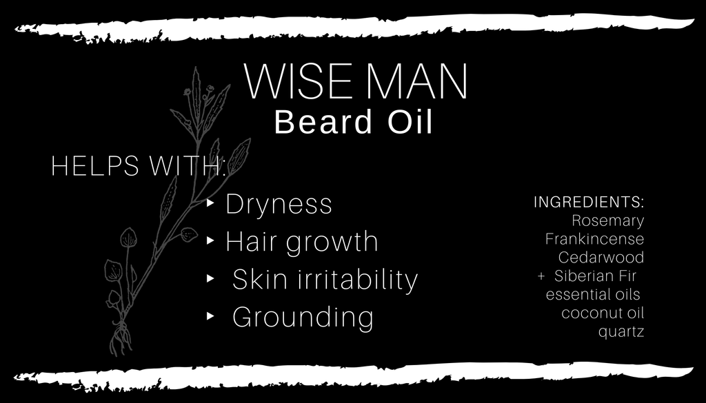 WISE MAN Beard Oil