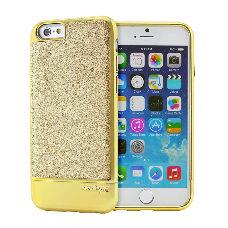 Capa de Smartphone Prodigee Sparkle Apple iPhone 6, 6s Dourado