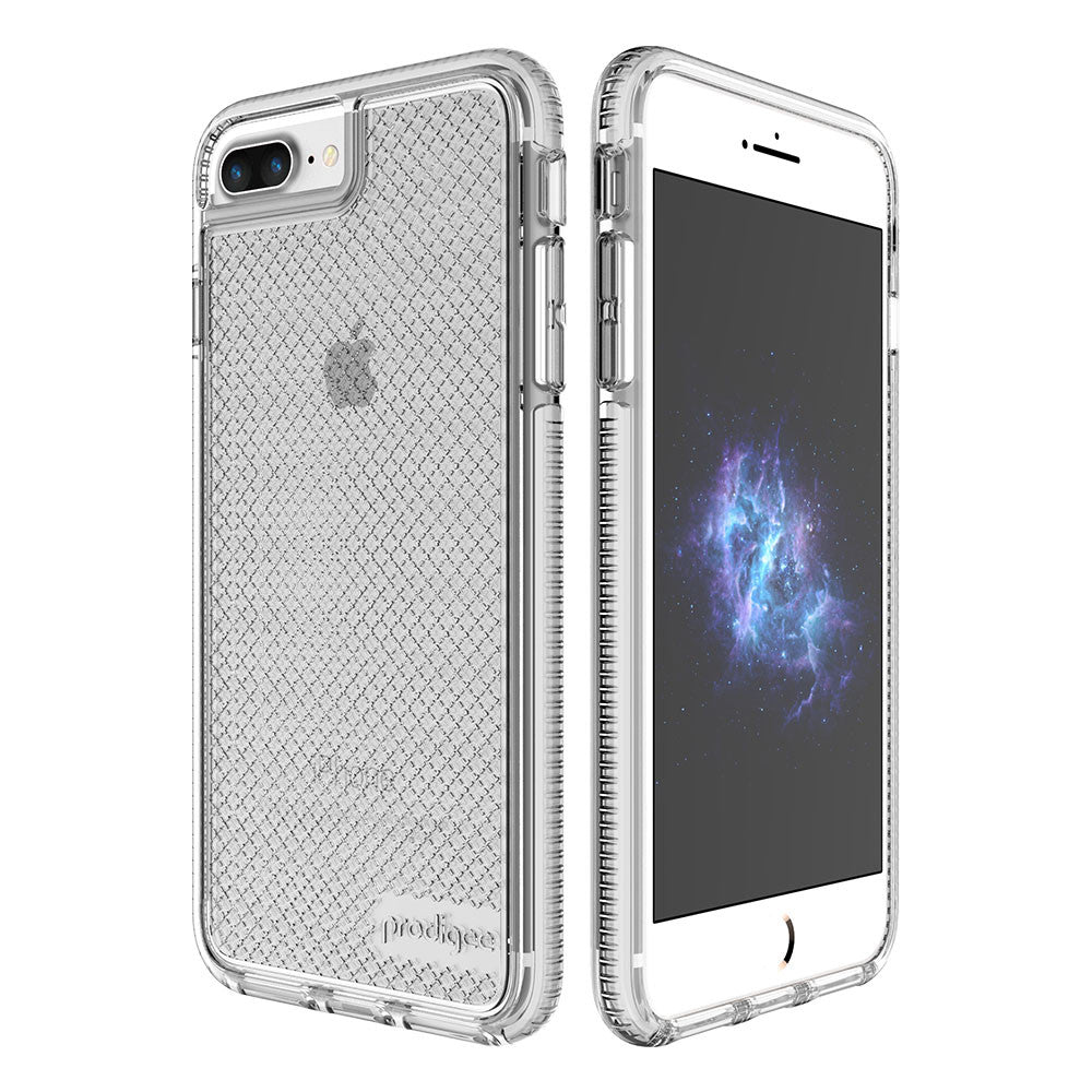 Capa de Smartphone Prodigee Safetee Apple iPhone 7 Plus, 8 Plus Prateado
