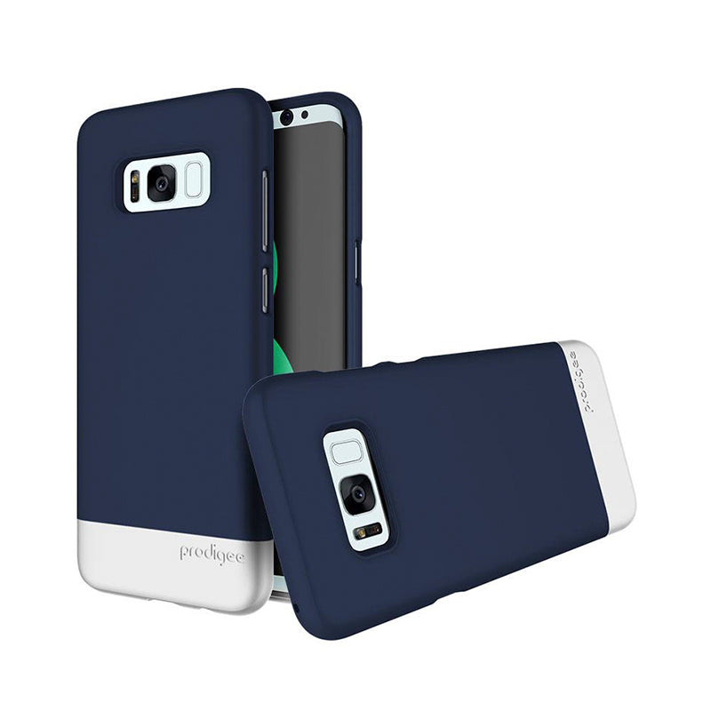 Capa de Smartphone Prodigee Accent Samsung Galaxy S8 Plus Navy/ Silver