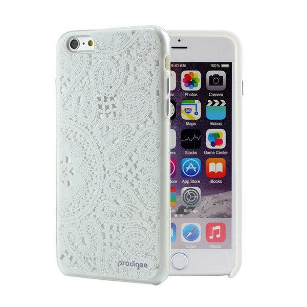 Capa de Smartphone Prodigee Show Lace Apple iPhone 7 Plus, 8 Plus Branco