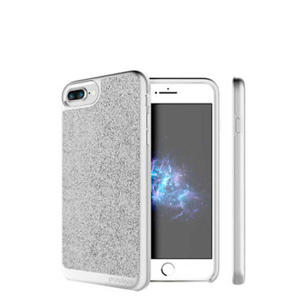 Capa de Smartphone Prodigee Sparkle Apple iPhone 7 Plus, 8 Plus Prateado