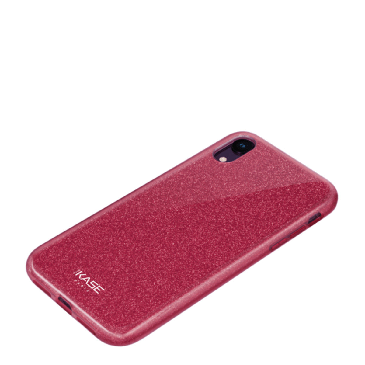 Capa de Smartphone The Kase Sparkly Glitter Apple iPhone Xr Vermelha
