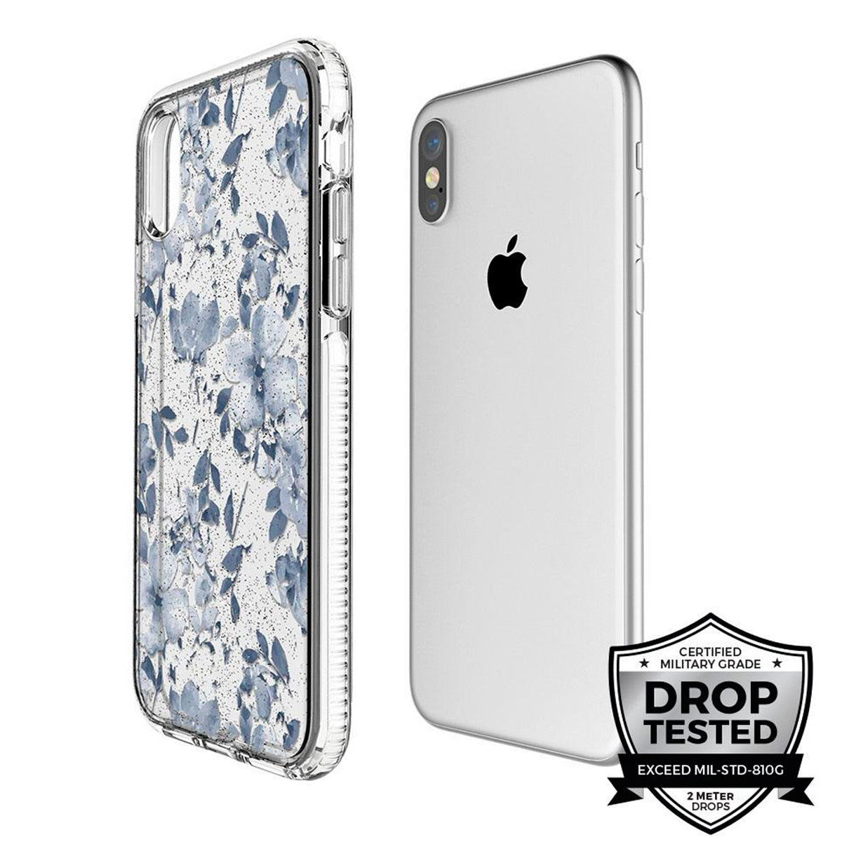 Capa de Smartphone Prodigee Super Star SE Apple iPhone Xs Max Blue Garden