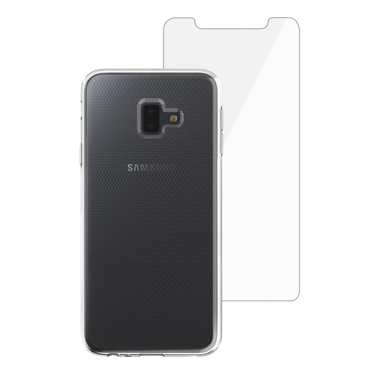 Capa de Smartphone Skech Bundle Matrix SE Samsung Galaxy J6 Plus Clear