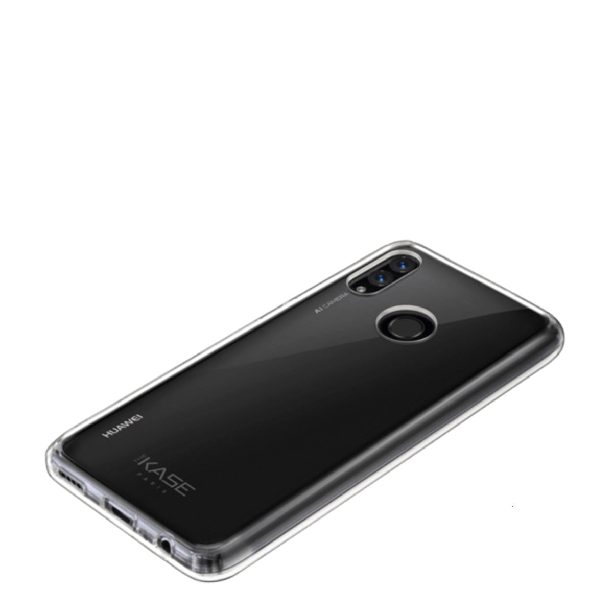 Capa de Smartphone The Kase Invisible Hybrid Huawei P Smart 2019 Transparente