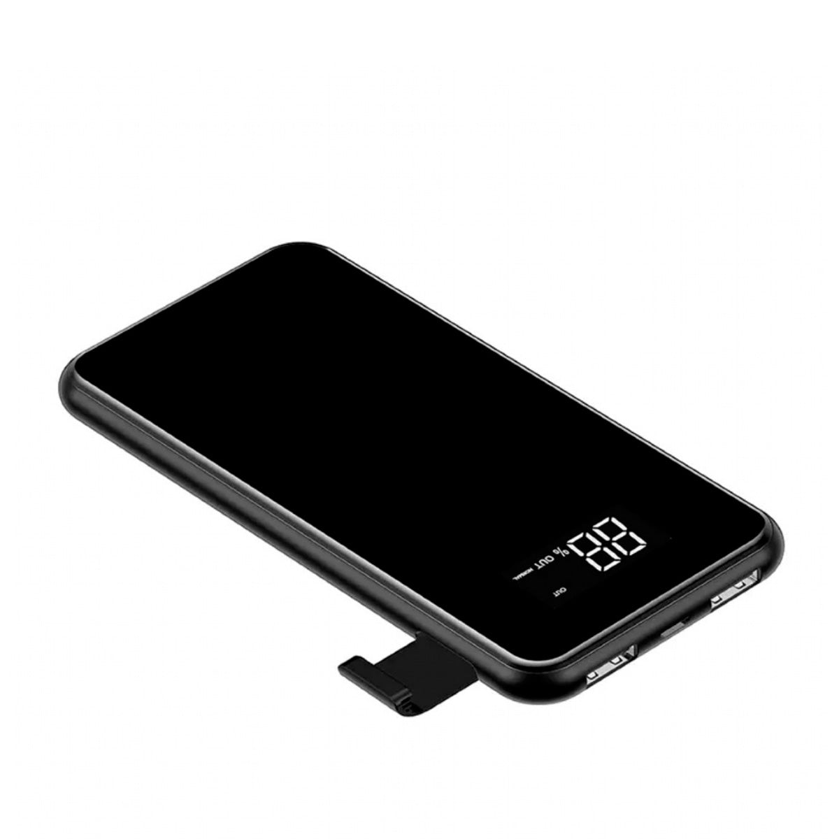 Power Bank Baseus Bracket Wireless 2x USB 8.000 mAh Preto