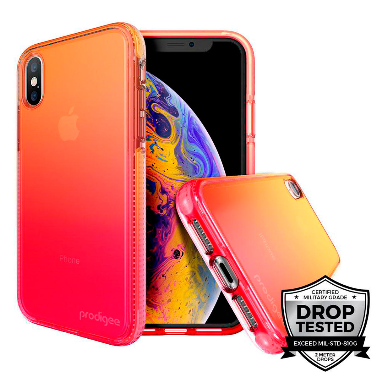 Capa de Smartphone Prodigee Safetee Flow Apple iPhone X, Xs Passion