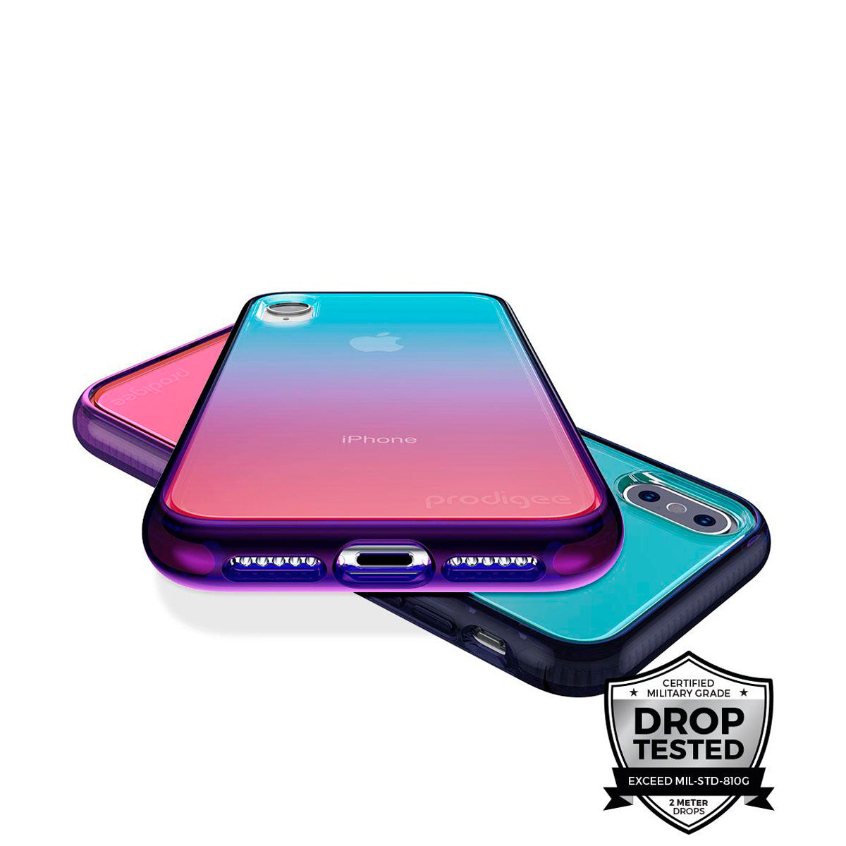 Capa de Smartphone Prodigee Safetee Flow Apple iPhone Xs Max Space