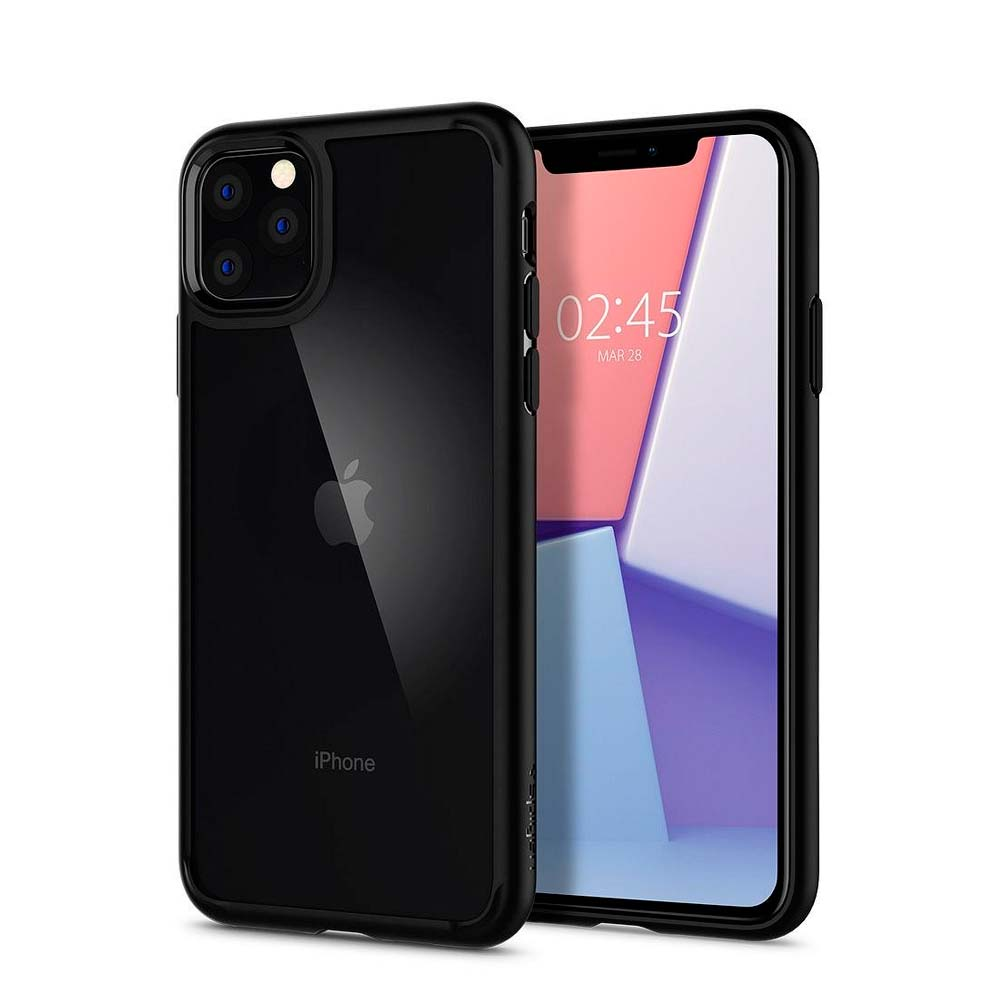 Capa de Smartphone Spigen Ultra Hybrid Apple iPhone 11 Preta