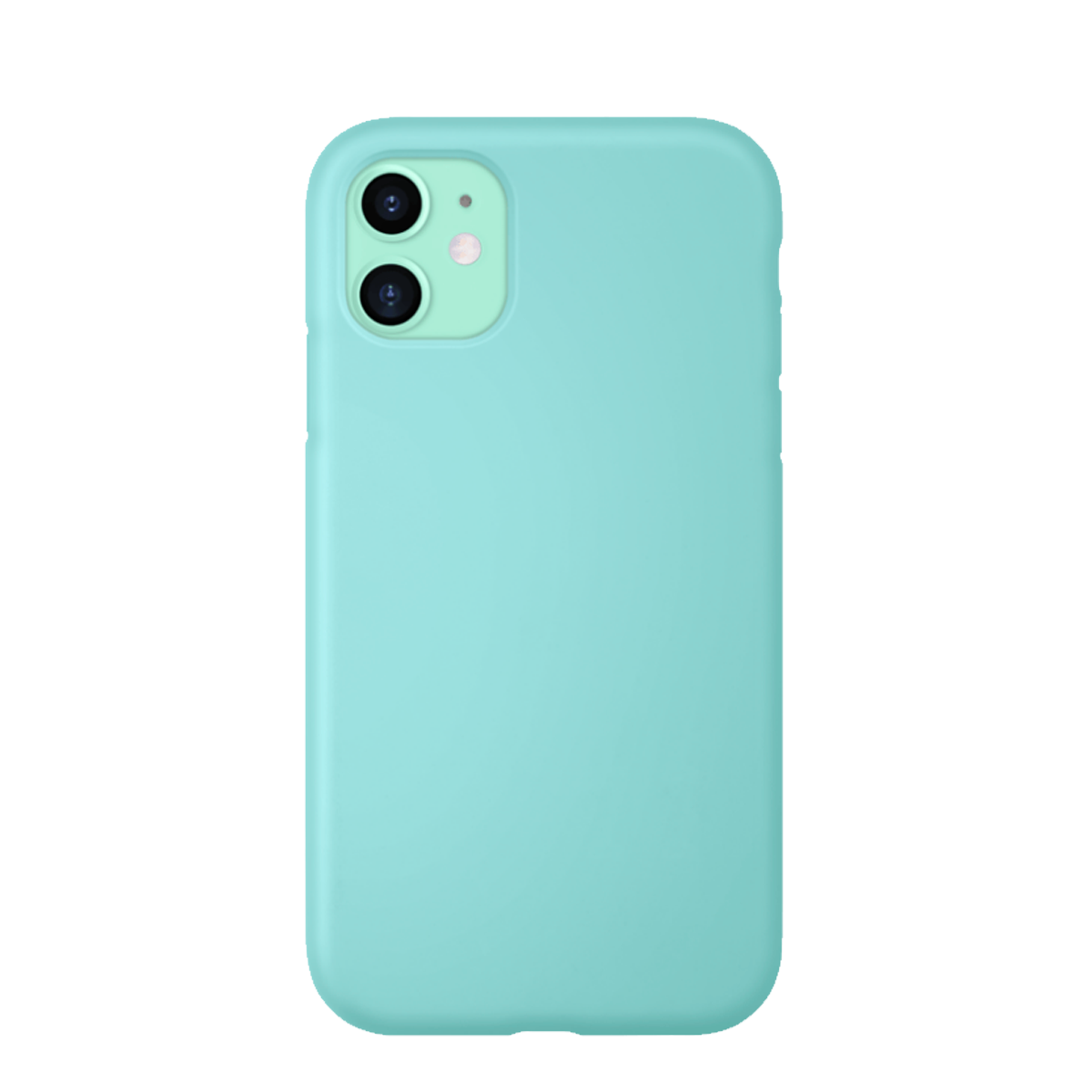 Capa de Smartphone The Kase Anti-Shock Silicone Apple iPhone 11 Menta