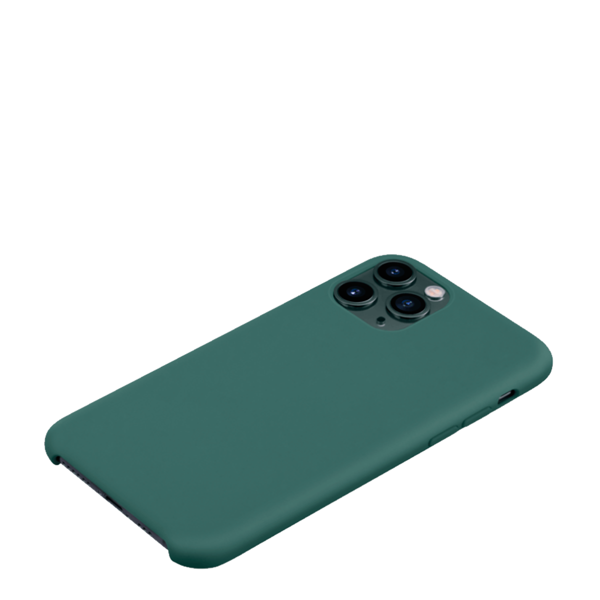 Capa de Smartphone The Kase Silicone Apple iPhone 11 Pro Verde Musgo