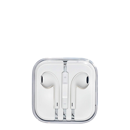 Auriculares Apple EarPods Jack 3.5 mm Branco