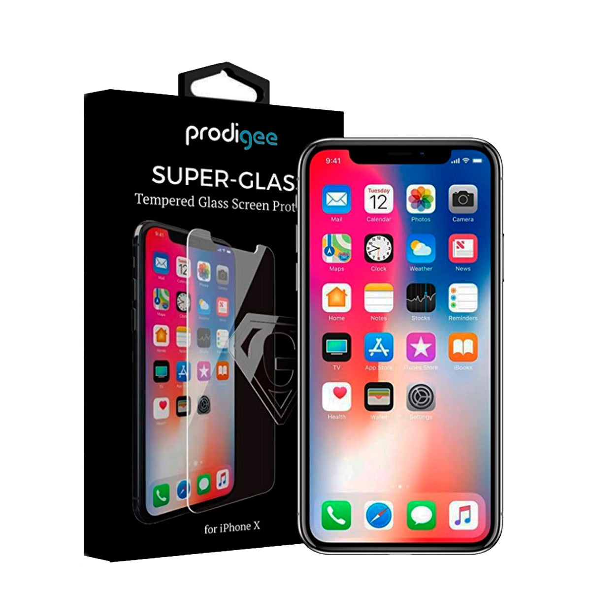 Protetor de Ecrã para Smartphone Prodigee Super Glass Apple iPhone X/ Xs/ 11 Pro Transparente