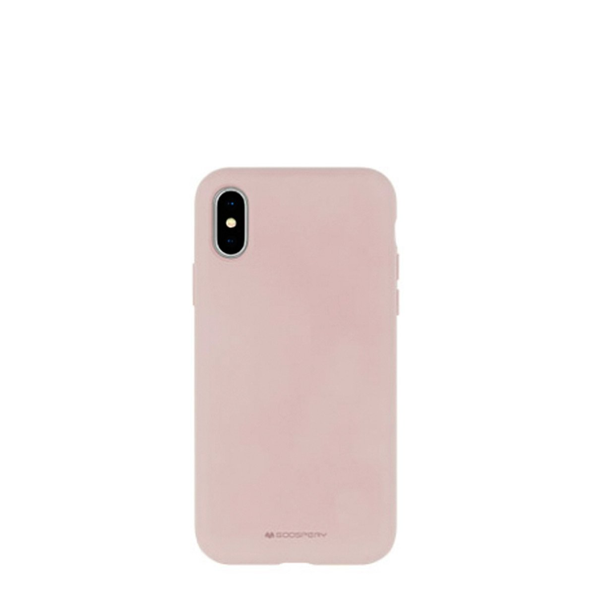 Capa de Smartphone Mercury Silicone Cover Apple iPhone X/ Xs Rosa Areia
