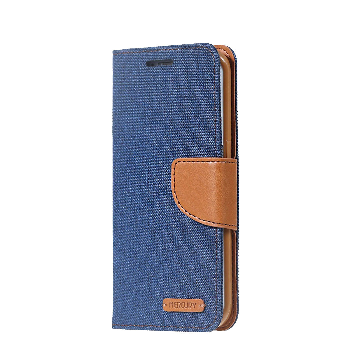 Capa de Smartphone Mercury Canvas Diary Apple iPhone Xr Azul