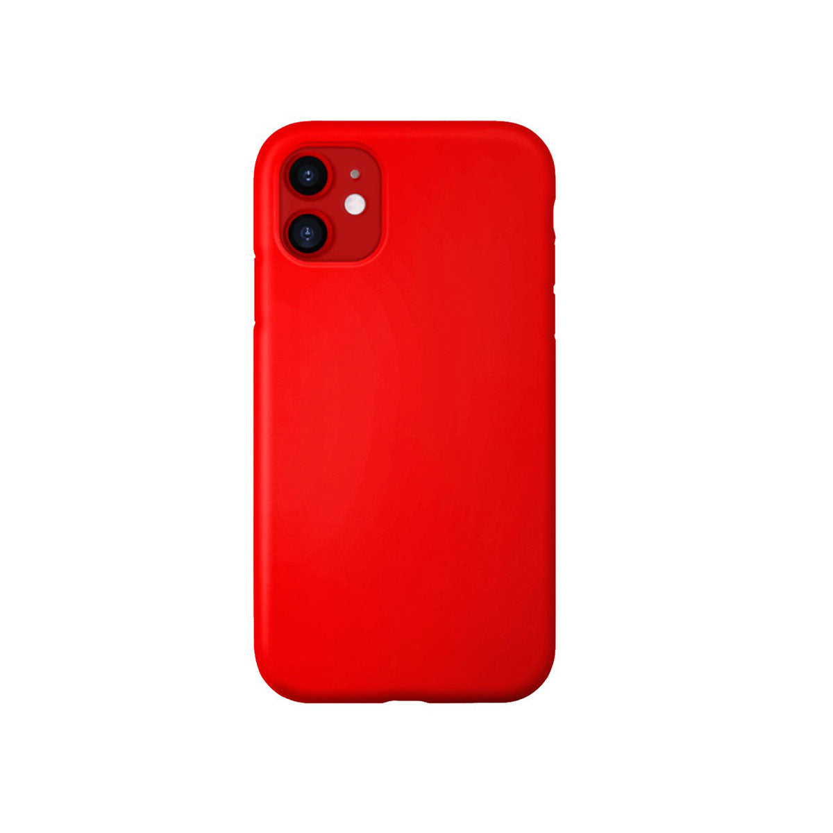 Capa de Smartphone The Kase Anti-Shock Silicone Apple iPhone 12 Pro Max Vermelha