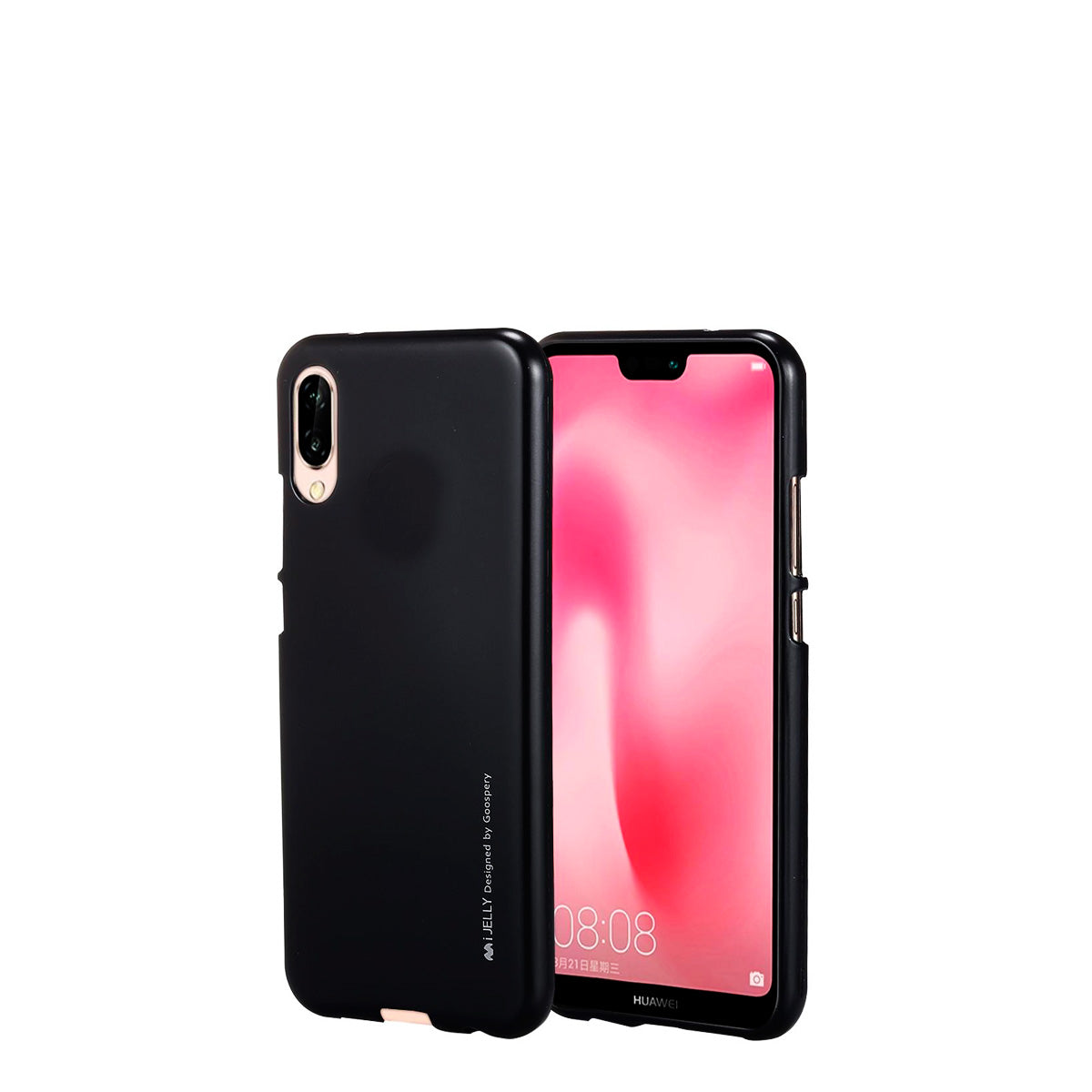 Capa de Smartphone Mercury I-Jelly Apple iPhone 7, 8 Preta