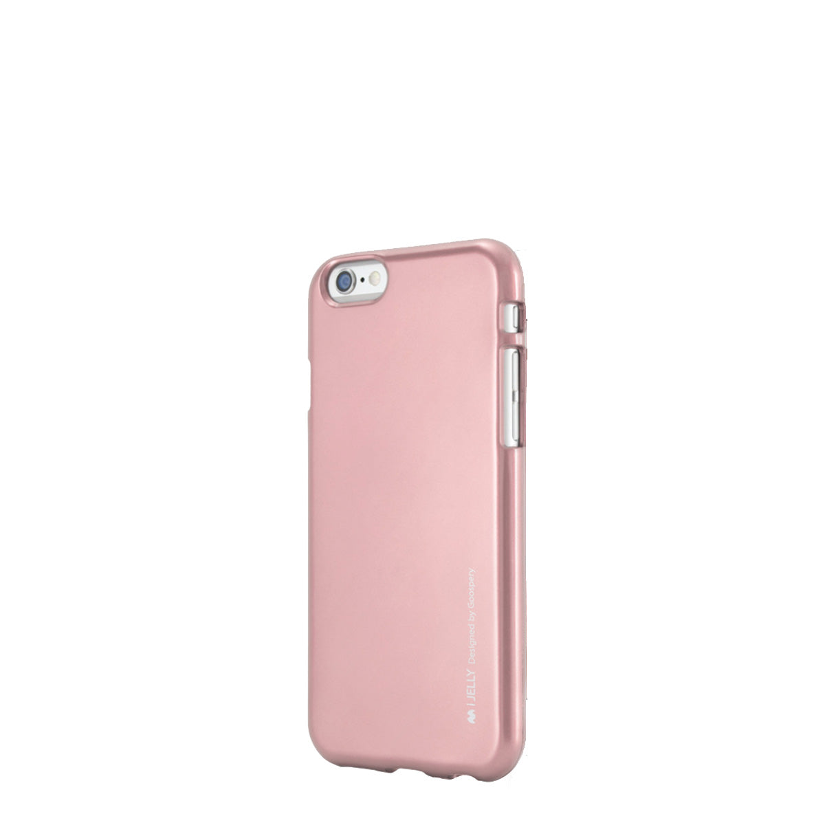 Capa de Smartphone Mercury I-Jelly Apple iPhone 6, 6s Rosa Dourado
