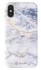 Capa de Smartphone Blurby Matte Apple iPhone Xs Max Ocean White Marble