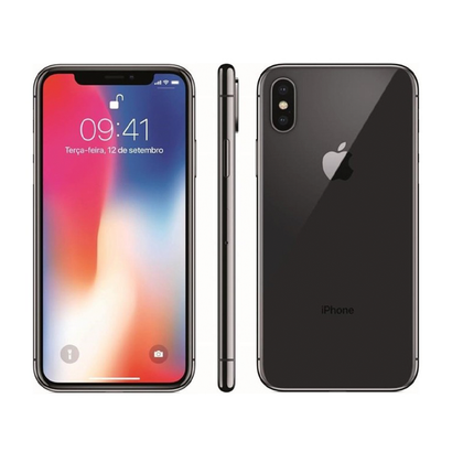 Smartphone Seminovo Apple iPhone X 3GB 64GB 5.8