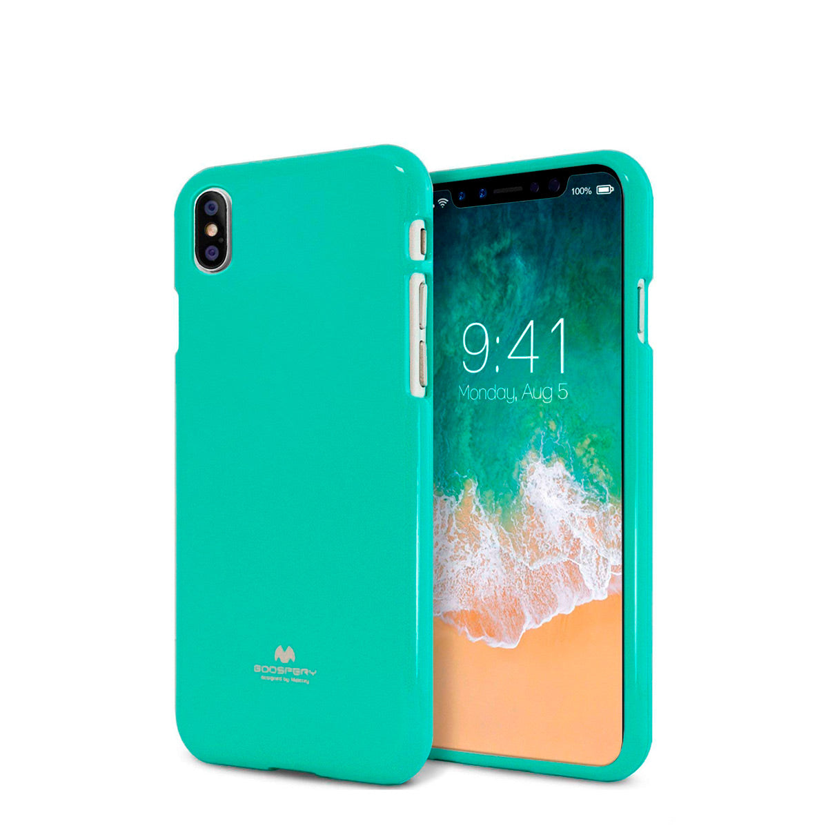 Capa de Smartphone Mercury Jelly Apple iPhone Xs Max Menta