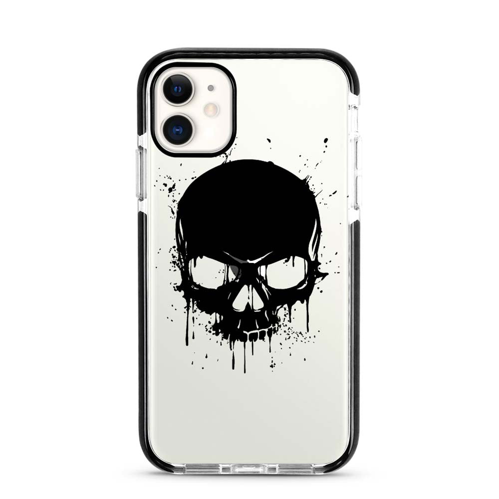 Capa de Smartphone Smart Talk Impact Apple iPhone 11 Black Skull