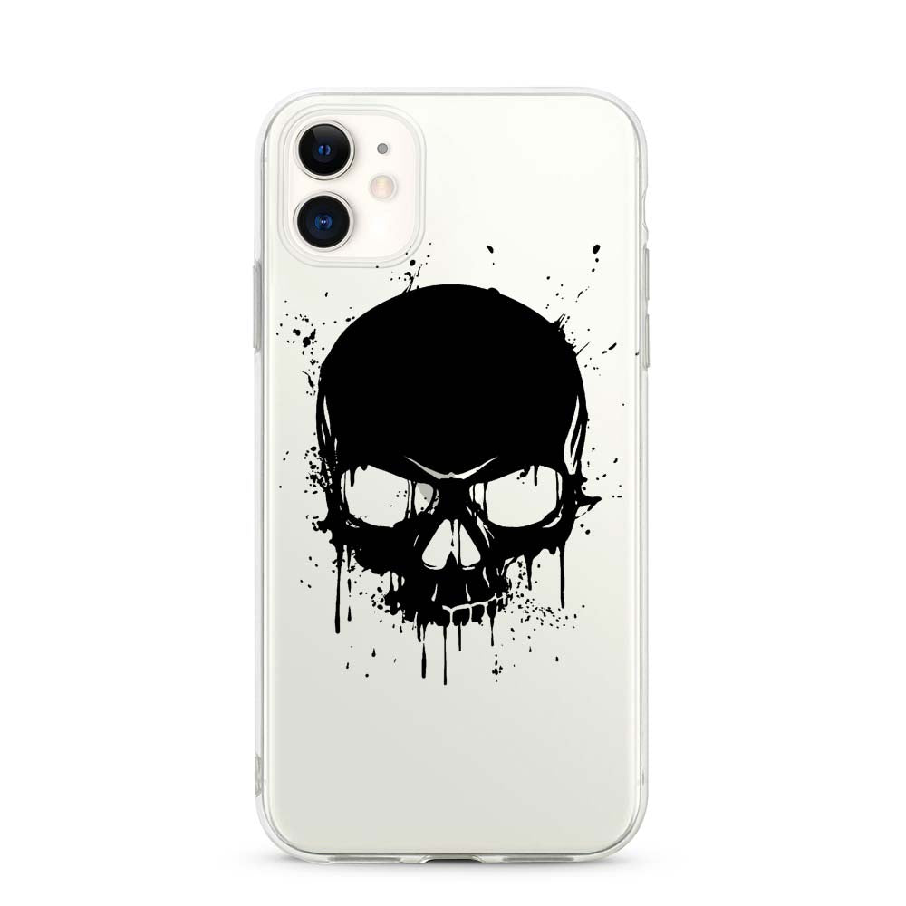 Capa de Smartphone Smart Talk Snap Huawei P Smart 2019 Black Skull